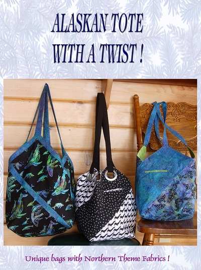 Alaska Tote With a Twist Pattern