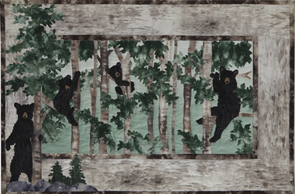 Ready or Not Bears Quilt Kit True Nature
