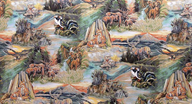 North American Wildlife 2-Land Bergsma K 14248-268 Nature