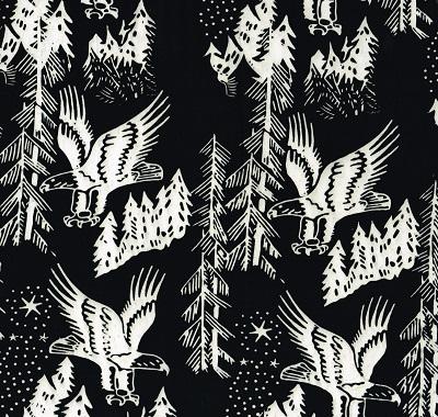 Batik Eagles SH17 AL-L Black - White