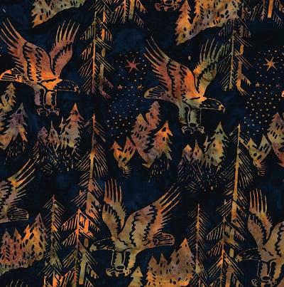 Batik Eagles SH17-EM-2-Midnight with Goldens