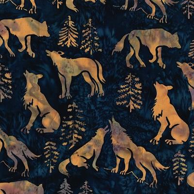 Batik Wolves-SH16-EM-2 Midnight