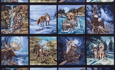 North American Wildlife 3 P22 Panel 8 Blocks 15067-268
