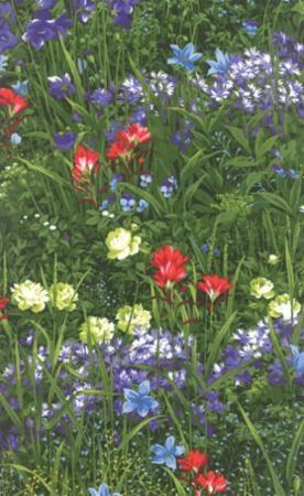 Wildflowers VII-M32970-13 Summer