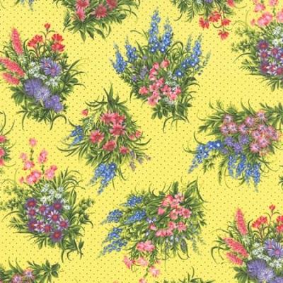 Wildflowers VII M 32975-14 Sunshine