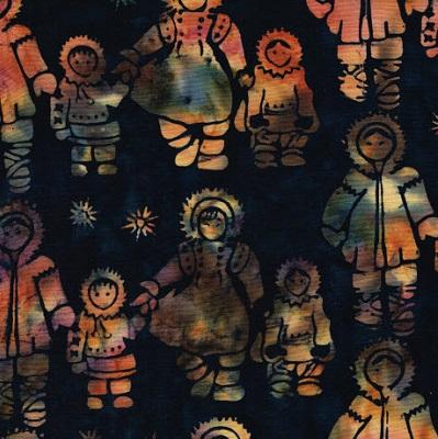 Batik Eskimo Family-SH20-L15 Sugarplum