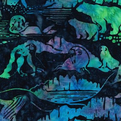 Glacier Bay Batik SH21-Blue M17-M