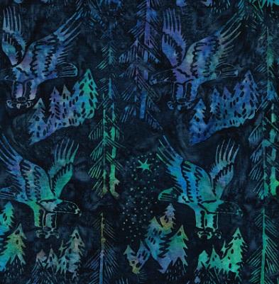 Batik Eagles SH17-IM-Blue Navy