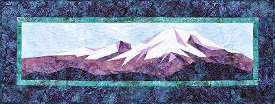 The Alaska Range Quilt Kit Mountain