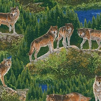 Bringing Nature Home Wolves-K15213-268