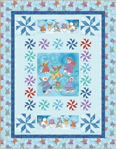 Snow Dance Kit-Barbara Lavallee