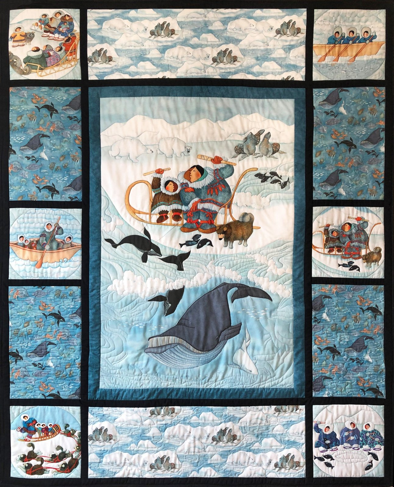 Quilt Kit Arctic Antics Lavallee