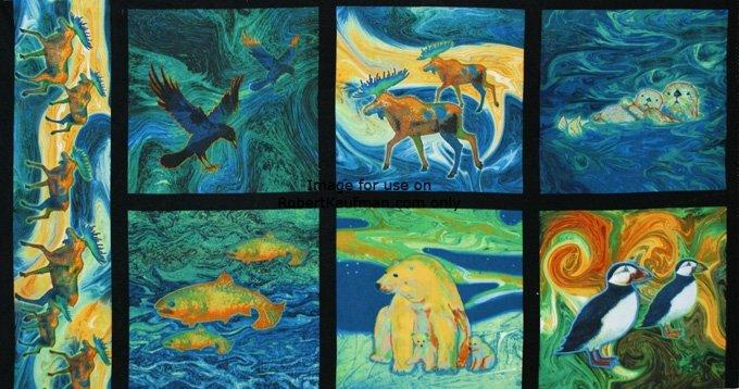 Creatures of the Wild 1 Panel P67 K 13387-205