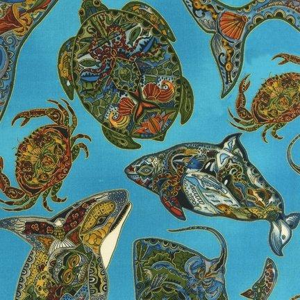 Animal Spirits Sealife K 11919-169 Sue Coccia