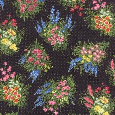 Wildflowers VII M 32975-17 Black