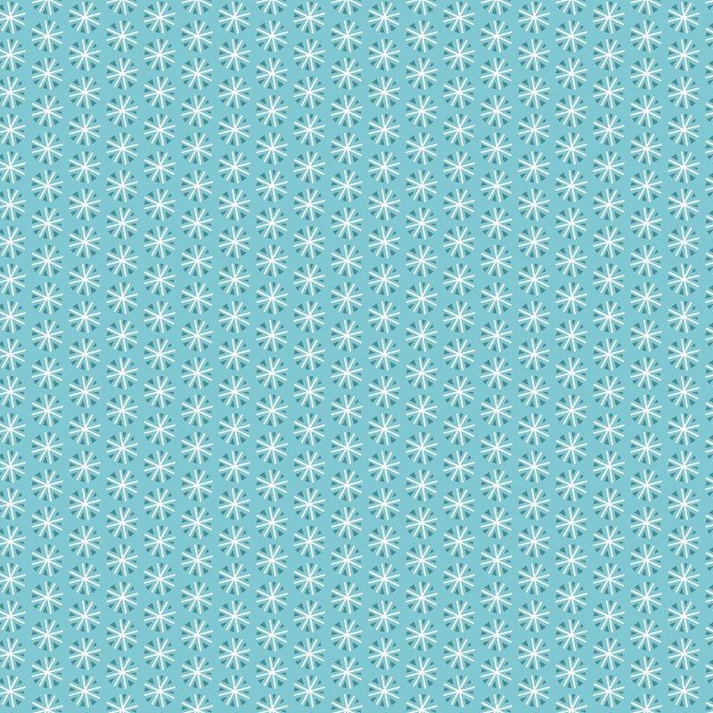 Snowfall Snowflakes CAM 4240406-1 Aqua