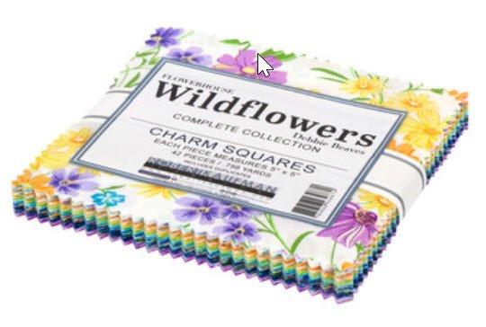 Flowerhouse Wildflowers Charm Pack