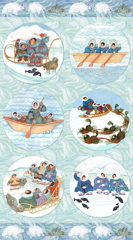 Arctic Wonders Circles Panel DP23418-42 P113