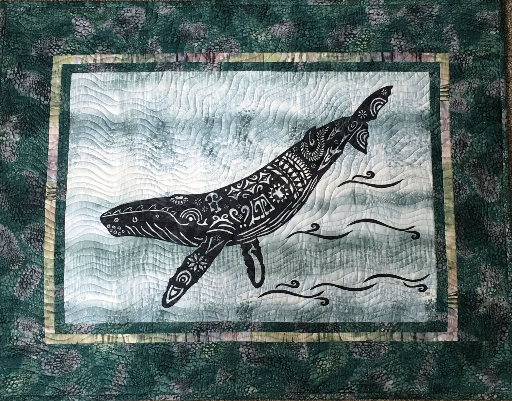 Alaska Whale Song Laser Kit in Muted Colorway Humpback Whale