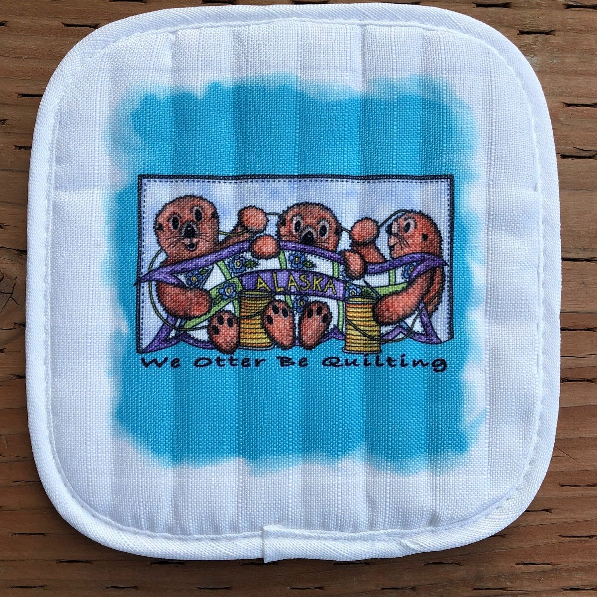 Otter be Quilting Hot Pad