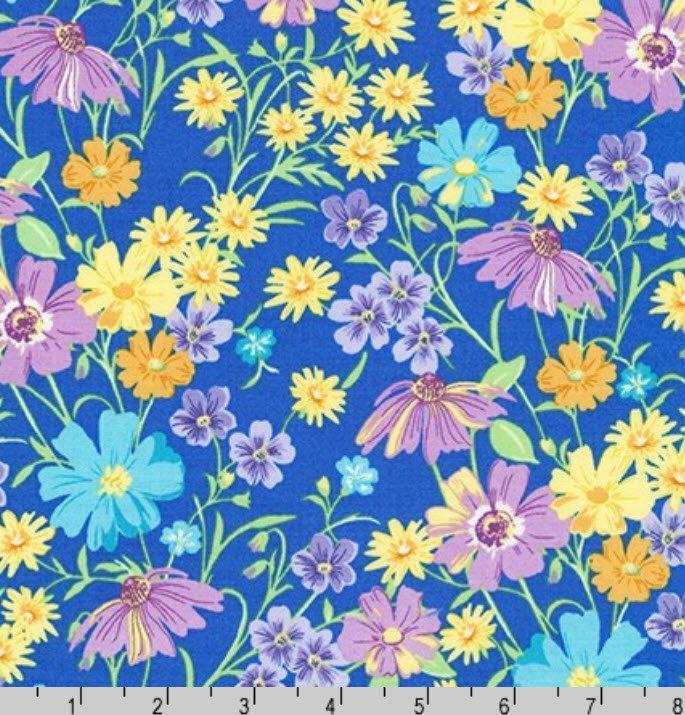 Flowerhouse Wildflowers K 20288-4 Blue