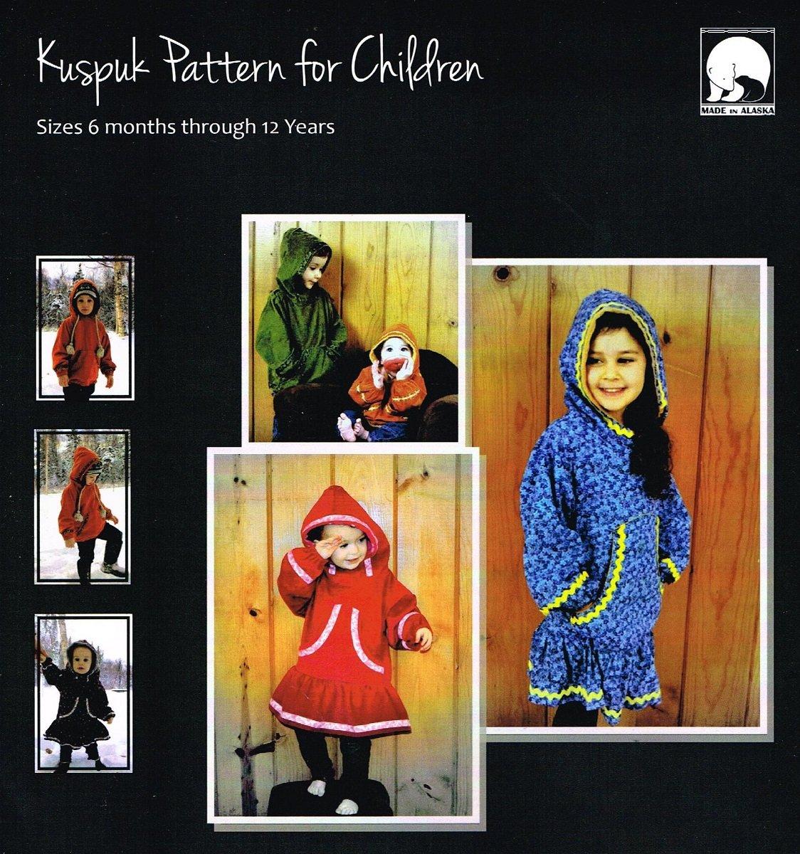 Child Size Kuspuk Pattern
