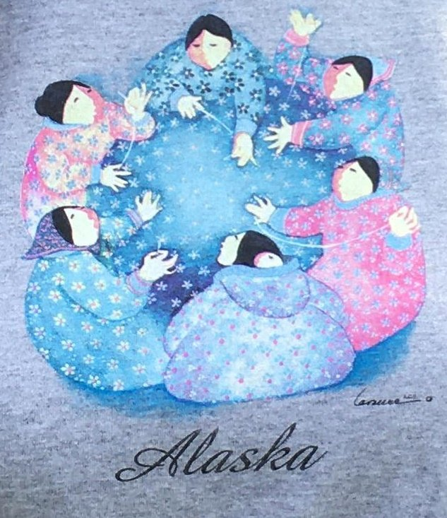 Tee Quilters Ash Crewneck 2xl 3xl and 4xl