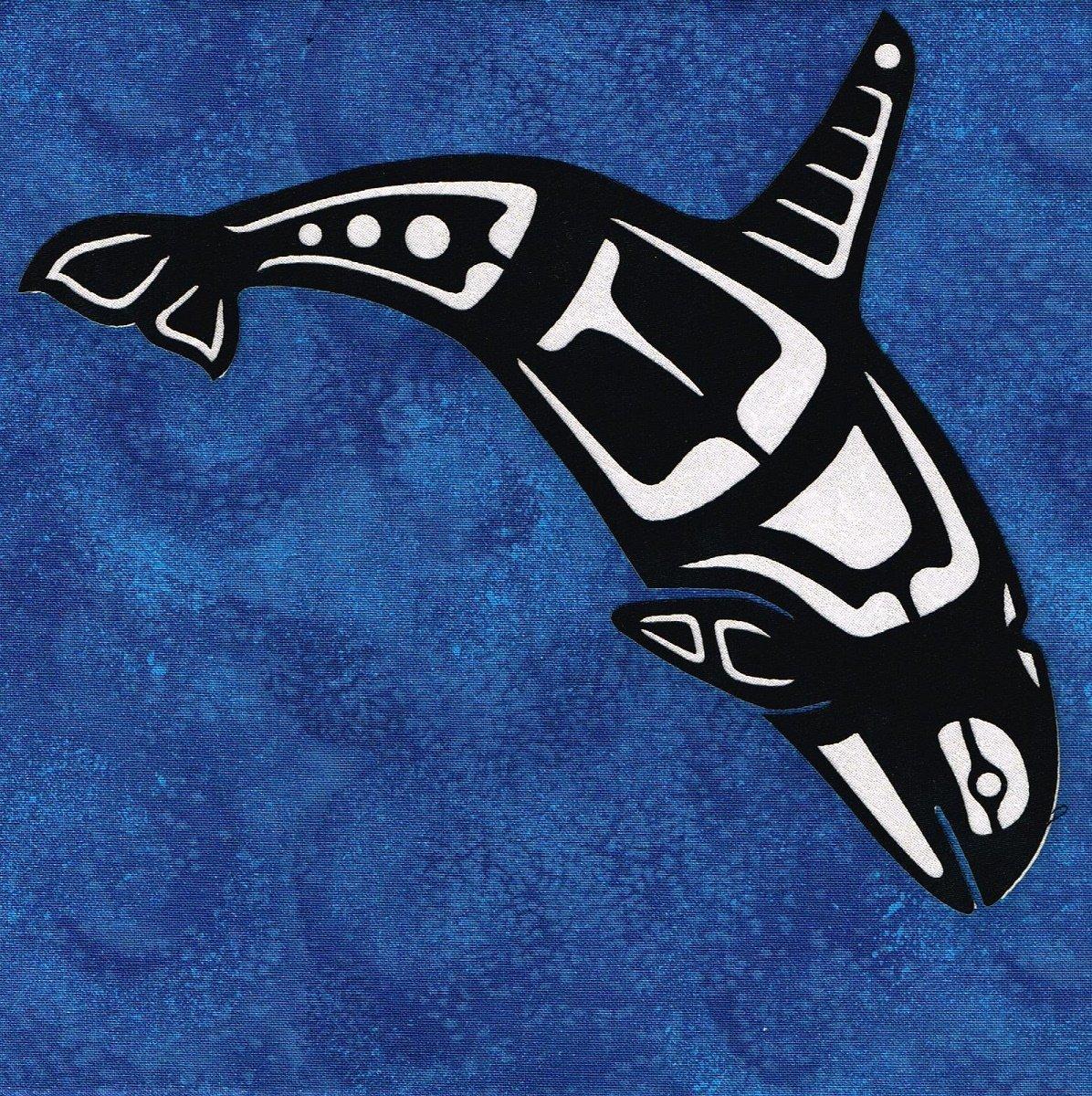 Mini Orca laser 2-toned White/Black