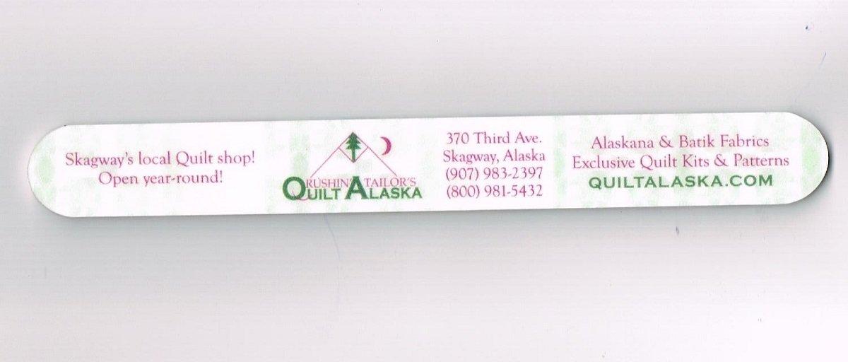 QuiltAlaska Nail File #11