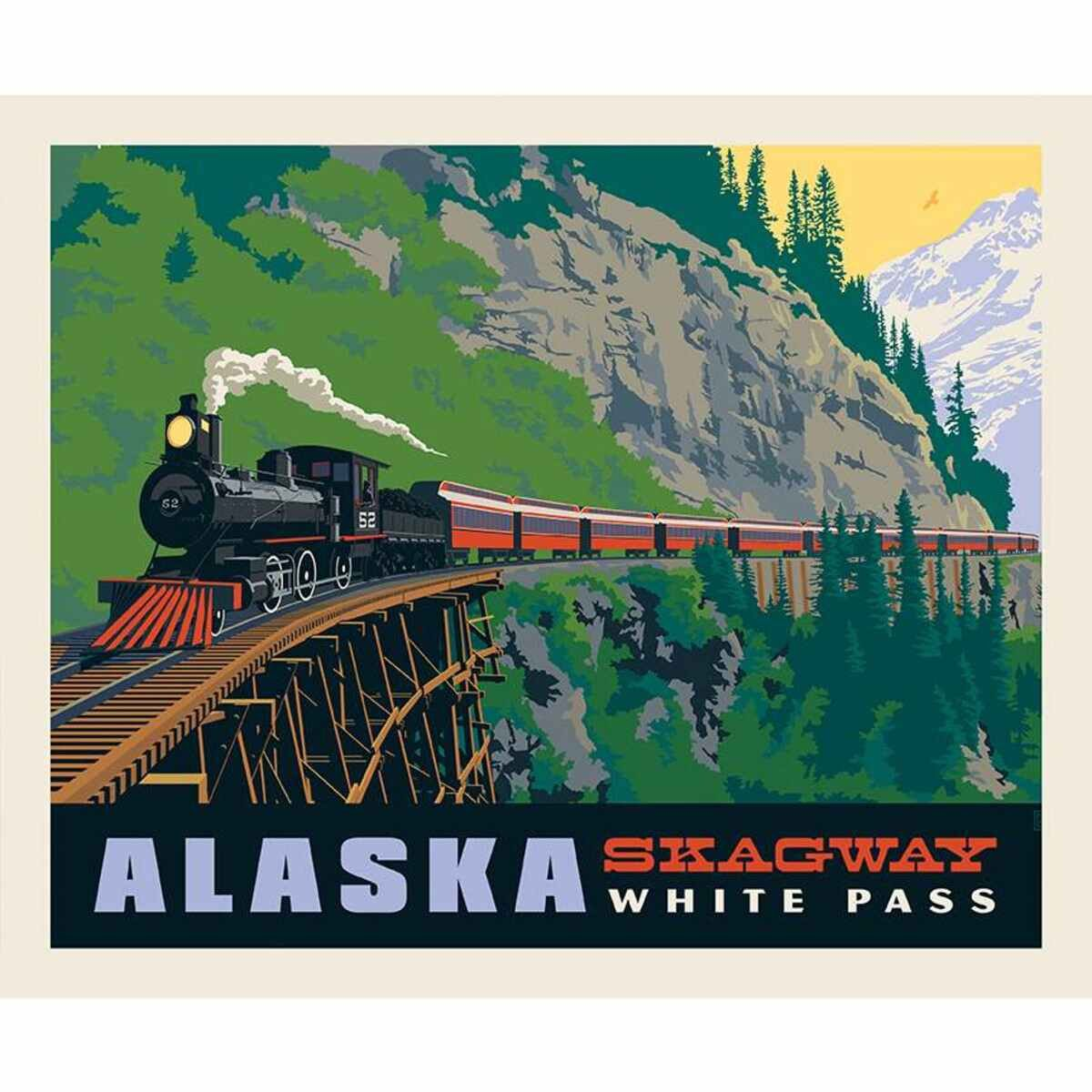 Panel Destination Skagway P11New RB 10395