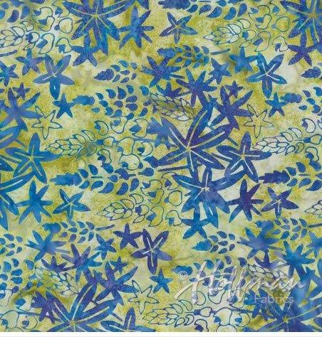 Batik Lupine H P2983-558 Lupine
