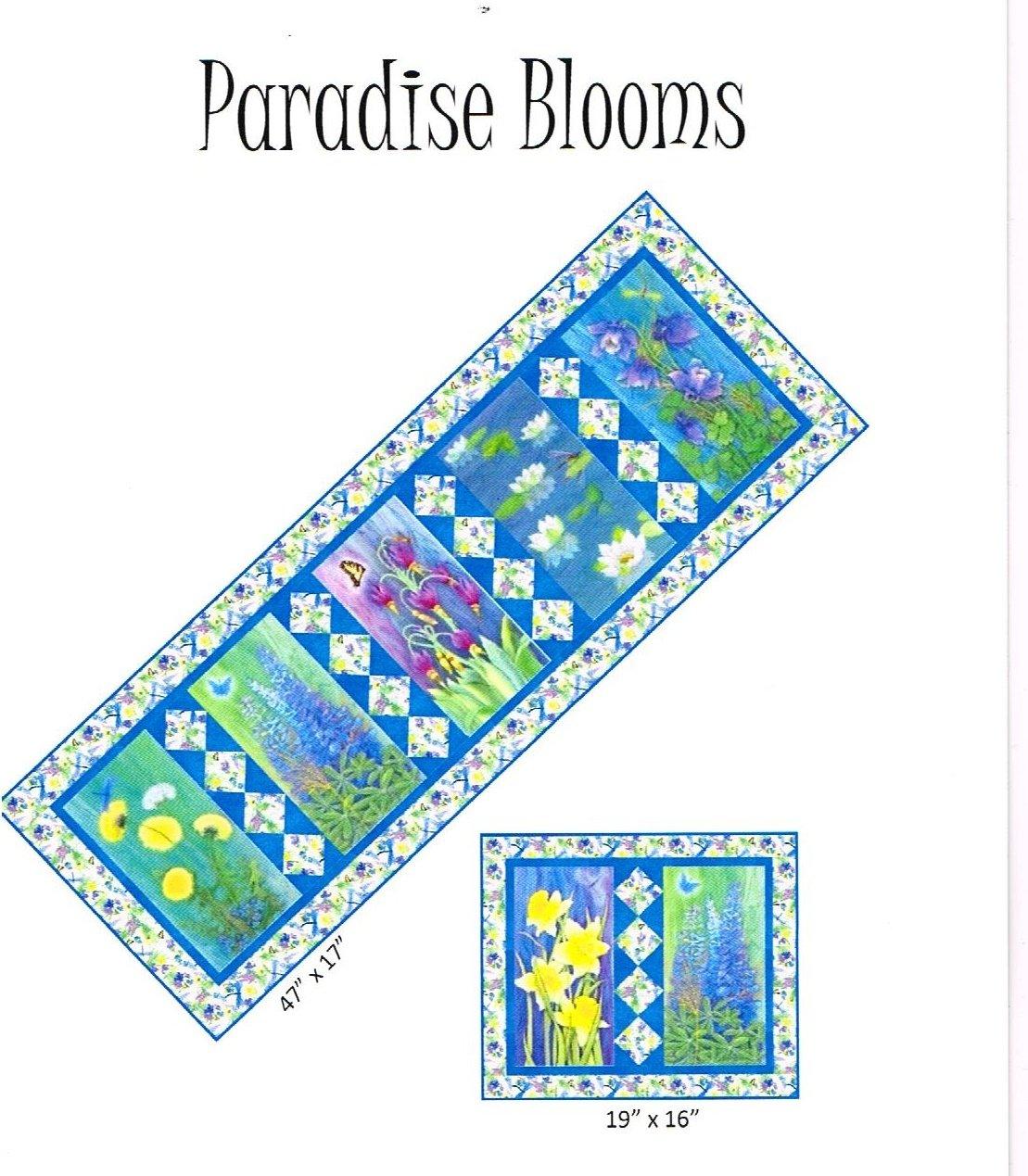 Quilt Kit Paradise Blooms Tablerunner
