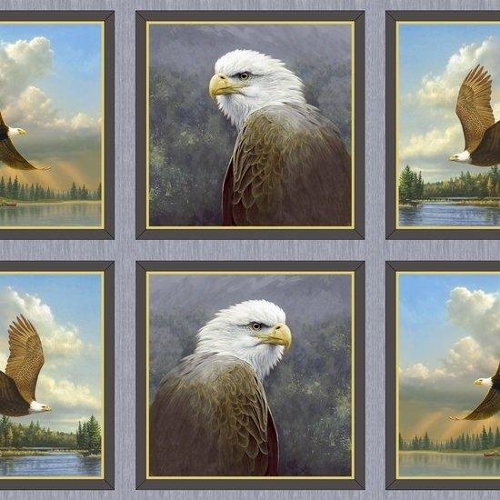 Majestic Eagles P39 Blocks-QT24322-K