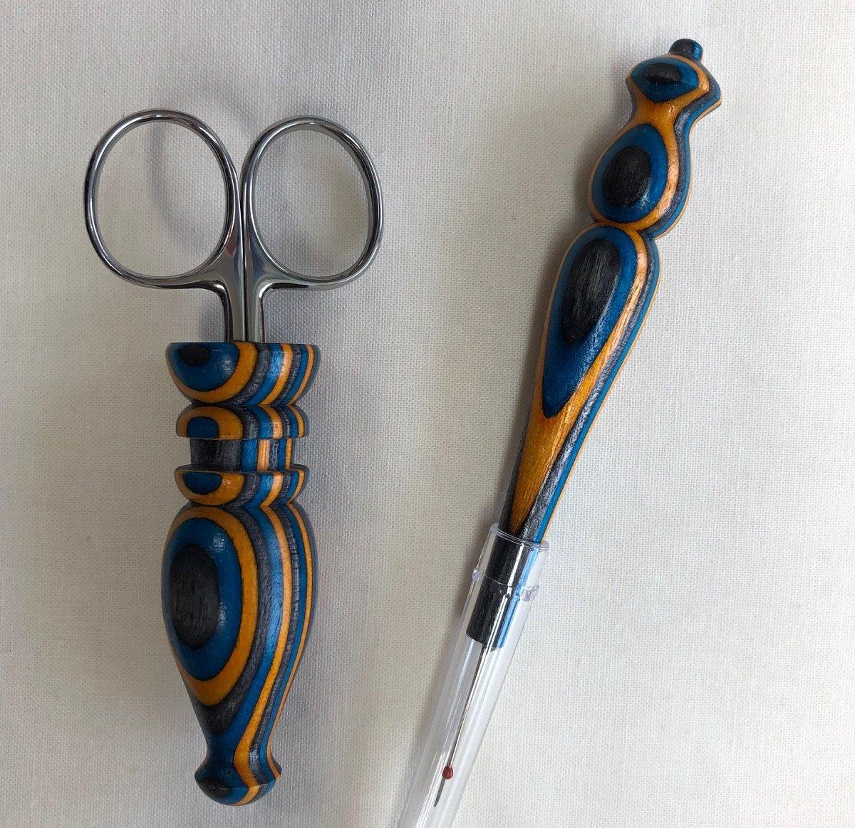 Scissor Seam Ripper Set Gold Royal W30
