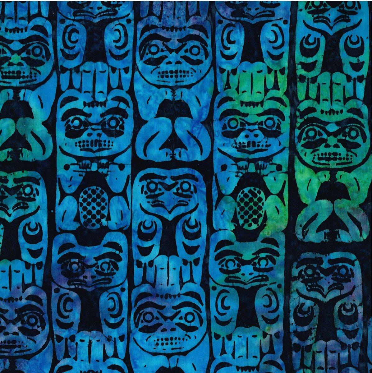 Totem Pole Batik IB SH40 M17 Kelly Turq