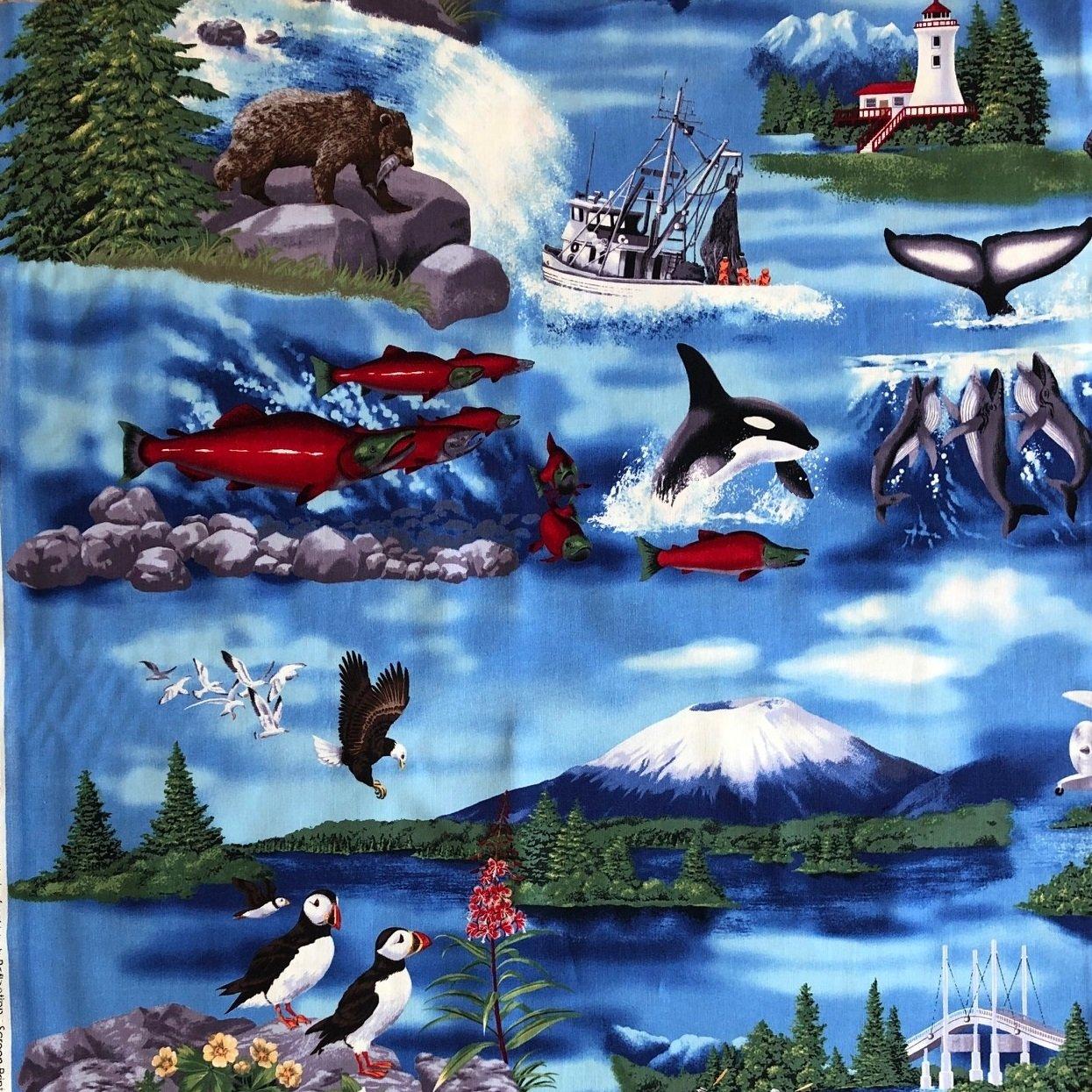 Southeast Alaska Sitka K 13978-59 Ocean