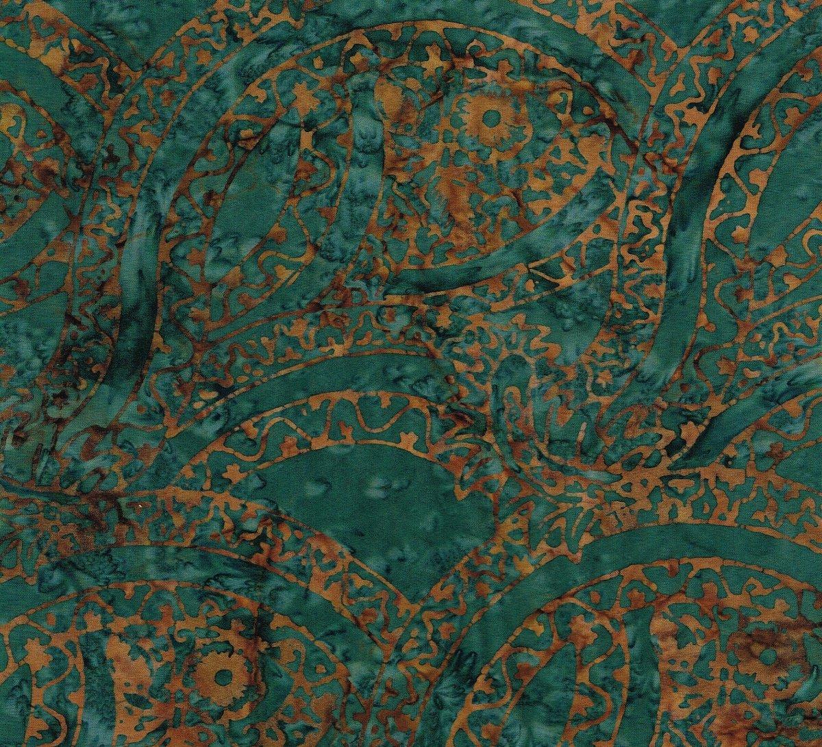 Batik Geometric TT B5762 Teal