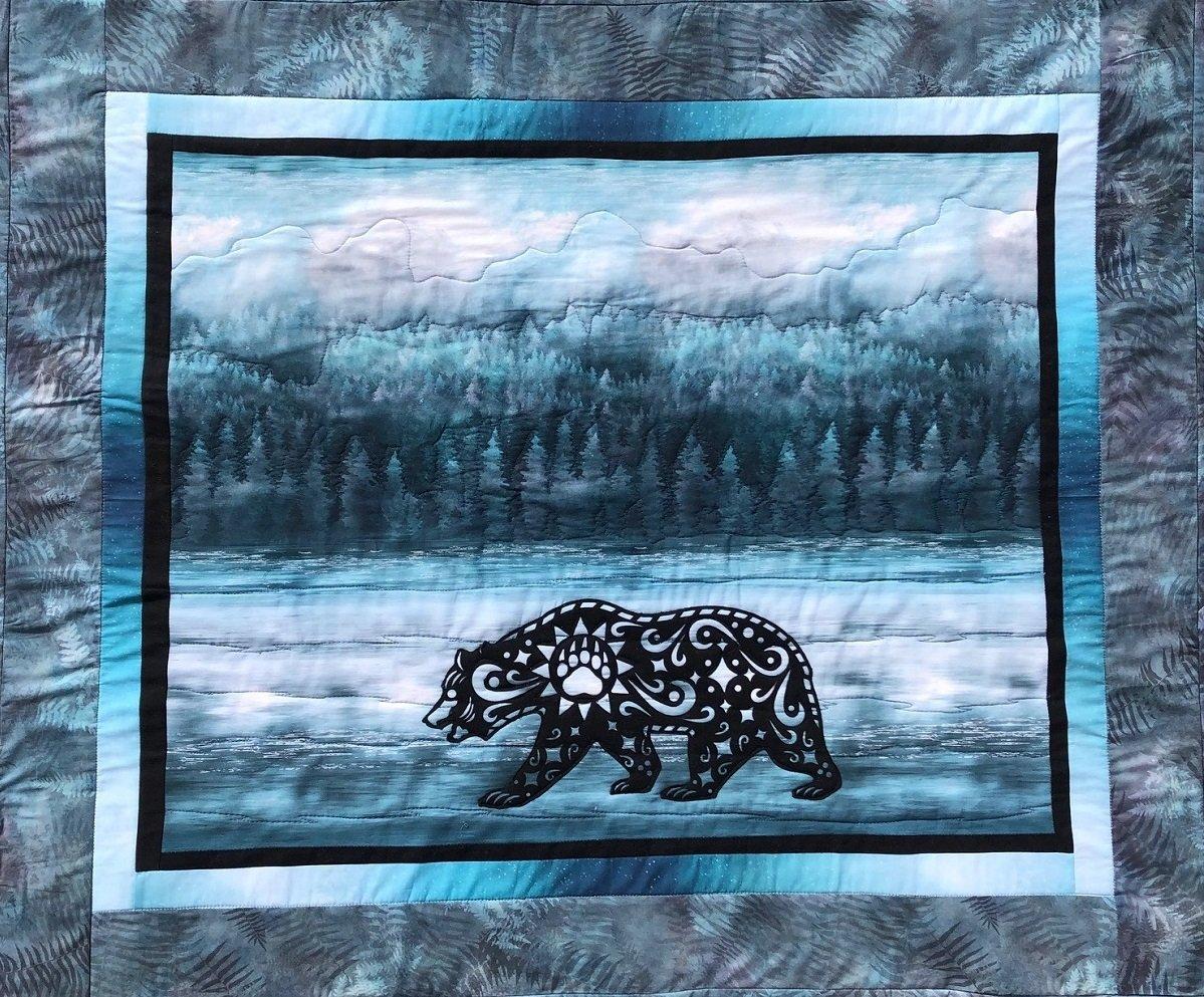 Quilt Kit Walk-About Bear