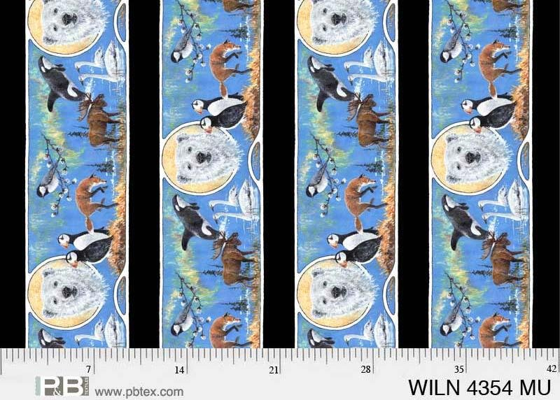 Wildlife Nouveaux Jon Van Zyle Stripe PB 4354 MU