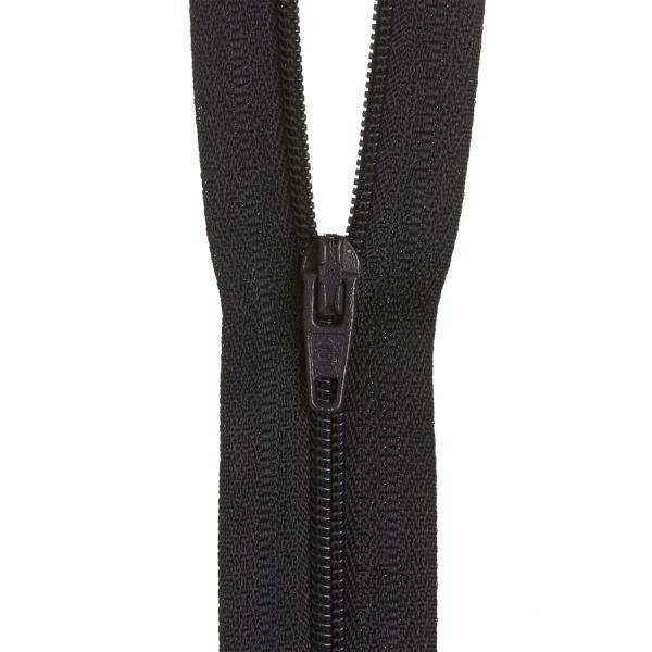 Zipper - Navy - 12 inches