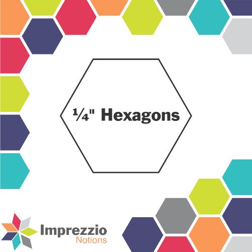Hexagons 1/4 - 250 Pack
