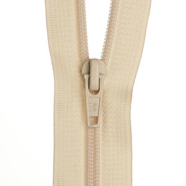 Dress Zip- Off White - 14 inch