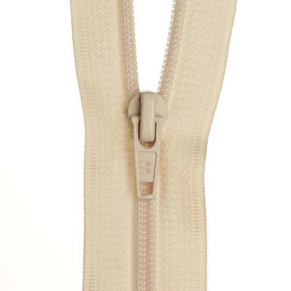 Dress Zip - Off White - 12 inch