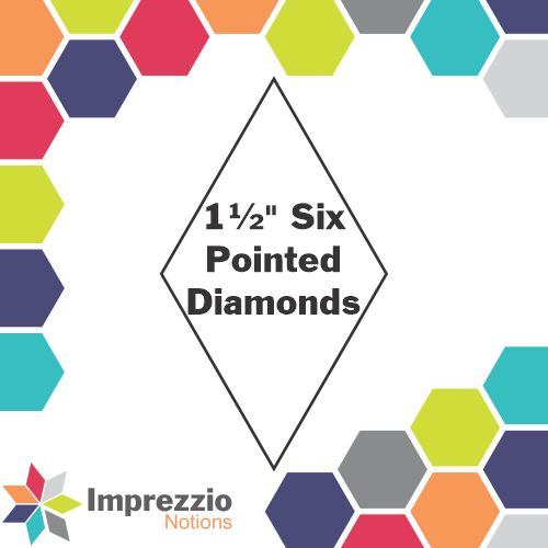 Six Pointed Star - 1.5 - 100pack