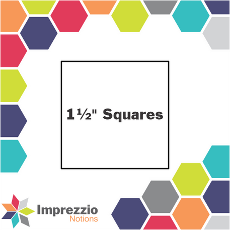 Square 1-1/2 inch - 100 pack