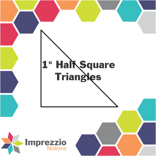 Half Square 1 Triangle Papers