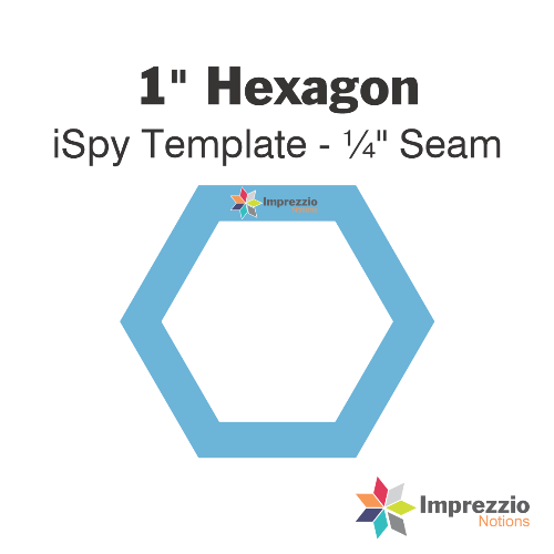 Hexagons Template - 1 - I-Spy
