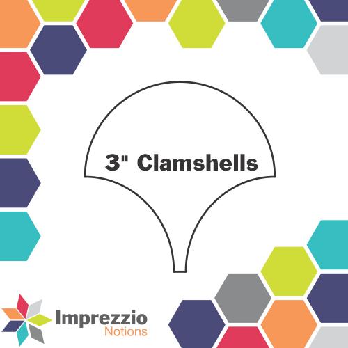 Clamshell 3 - 50 pack - Imprezzio