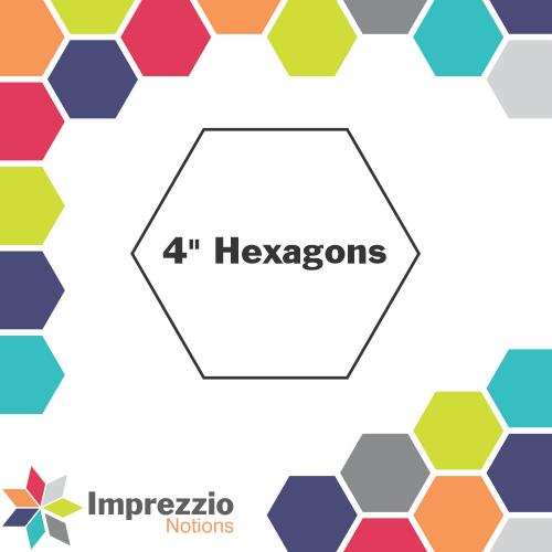 Hexagons  4 - 100 Pack