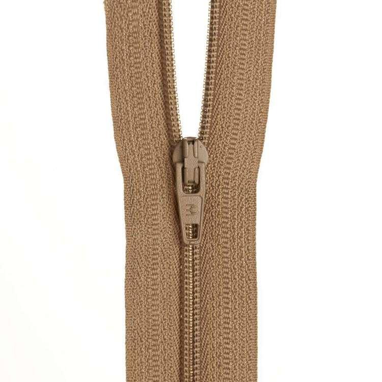 Dress Zip - Beige - 12 inches